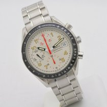 Omega Speedmaster Steel 39mm White Arabic numerals