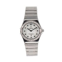 Omega Constellation Ladies Steel 22.5mm Mother of pearl