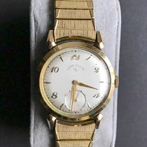 Elgin Yellow gold 32mm Manual winding 4820 pre-owned United States of America, North Carolina, Durham