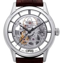Oris Artelier Translucent Skeleton Steel 40.5mm Transparent