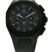 Girard Perregaux Chrono Hawk new Automatic Chronograph Watch with original box and original papers 49970-32-1404S-FK6A