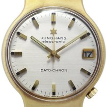 Junghans 1972 pre-owned 36mm Silver Date Leather