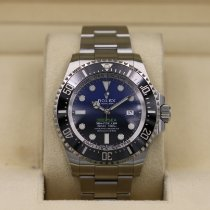 Rolex Sea-Dweller Deepsea rabljen 44mm Plav-modar Datum, nadnevak Zeljezo
