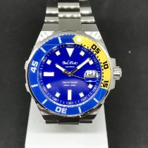 Paul Picot Steel 43mm Automatic 1251 ZLG new