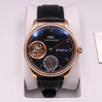IWC Portuguese Tourbillon Rose gold 43,1mm Black Arabic numerals