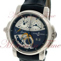 Ulysse Nardin Sonata White gold 40mm Blue No numerals United States of America, New York, New York