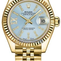 Rolex new Automatic Screw-Down Crown 28mm Yellow gold
