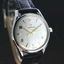 Omega White dial Handaufzug in Super Zustand Cal.420 aus 1954