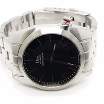 Dior 36.5mm Automatic pre-owned Chiffre Rouge Black