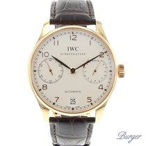 IWC Portugieser 7- Days Rose Gold 2016
