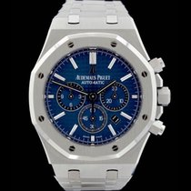 Audemars Piguet Royal Oak Chrono - Ref.: 26320ST - Blue Dial -...
