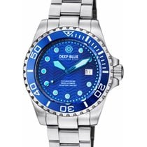 Deep Blue 44mm Automatik neu Blau