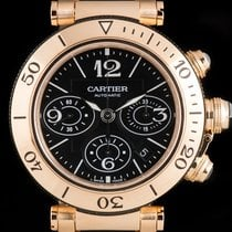 Cartier Pasha Seatimer Gents Rose Gold W301980M