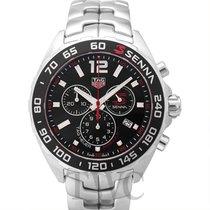 TAG Heuer Formula 1 Chronograph Black Steel 43mm - CAZ1015.BA0883