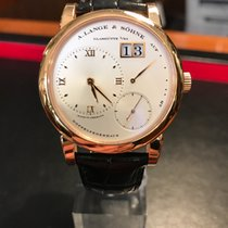 A. Lange & Söhne Lange 1 Or rose 38,5mm Argent France, Paris