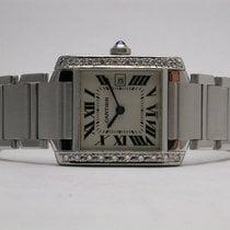 Cartier Tank Française Steel 28mm Roman numerals United States of America, California, Orange