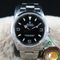 勞力士 EXPLORER 1 114270 Black Dial Mint Condition with Tags