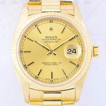 Rolex Datejust Gelbgold 16018 rar Presidentband 18K Gold...