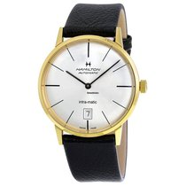 Hamilton Intra-Matic Steel 38mm No numerals