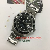 Rolex 16610 Submariner Date Steel 40mm Mint M serial W Card