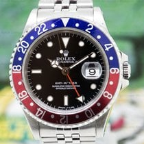 Rolex 16700 16700 GMT Master Red / Blue Pepsi Bezel (29479)
