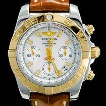 Breitling Chronomat 41 tweedehands 41mm Goud/Staal
