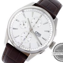 Oris Artix Chronograph Steel 44mm Silver No numerals United States of America, Pennsylvania, Willow Grove