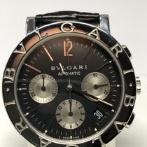Bulgari acciaio chrono bb38slch