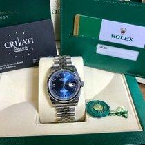 Rolex Datejust Dial blue Jubilee