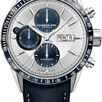 Raymond Weil Freelancer Steel 42mm Silver United States of America, New York, Airmont