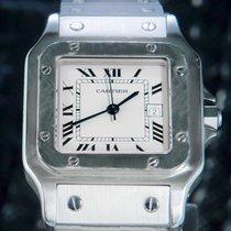 Cartier 29mm Automatisch tweedehands Santos Galbée Zilver