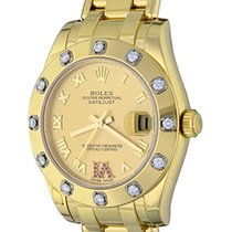 Rolex Pearlmaster Yellow gold 31mm Champagne United States of America, Texas, Dallas