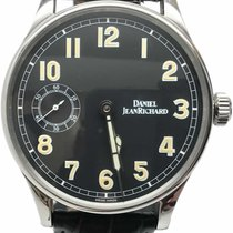 JeanRichard Steel 43mm Manual winding 585LE pre-owned United States of America, Florida, Naples