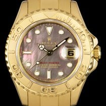 Rolex Yacht-Master Yellow gold 29mm Mother of pearl No numerals United Kingdom, London