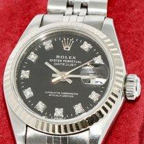 Rolex Lady-Datejust Steel 26mm Black