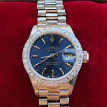Rolex Lady-Datejust Witgoud 26mm Geen cijfers Nederland, Leiden
