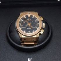 Hublot Rose gold Automatic pre-owned Classic Fusion Chronograph
