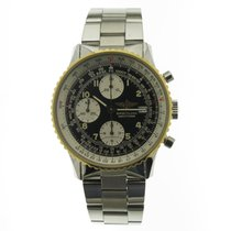 Breitling Old Navitimer new 1995 Automatic Chronograph Watch with original box and original papers B13019