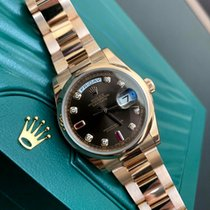 Rolex Day-Date 36 Pозовое золото 36mm Коричневый Россия, Санкт-Петербург