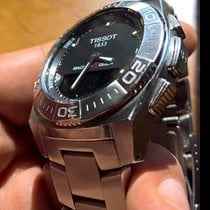 Tissot Acero Cuarzo Negro Sin cifras 42mm usados Racing-Touch