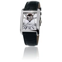 Frederique Constant Classics Automatic Staal 30.4mm Wit Romeins