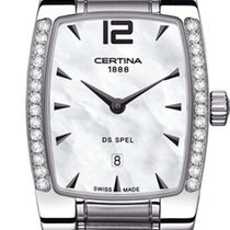 Certina DS Spel Lady Steel 23mm Mother of pearl No numerals