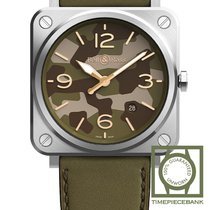 Bell & Ross Acero 39mm Cuarzo BRS-CK-ST/SCA nuevo