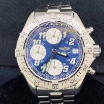 Breitling Colt Chronograph Automatic Stahl 40mm Blau Arabisch