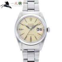 Rolex Air King Date Acél 34mm Ezüst