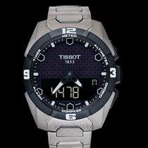 티쏘 T-터치 엑스퍼트 솔라 T091.420.44.051.00 신품 45mm 쿼츠