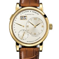 A. Lange & Söhne Lange 1 Yellow gold 39.5mm Silver United States of America, Florida, Sunny Isles Beach