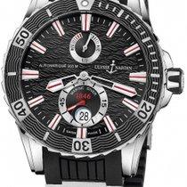 Ulysse Nardin Diver Chronometer Steel 44mm Black No numerals United States of America, Florida, Miami