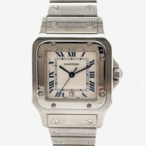 Cartier Santos Galbée Steel 29mm Black Roman numerals United States of America, New York, New York