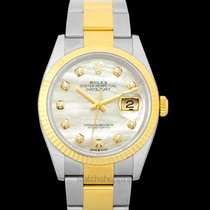 Rolex Datejust Yellow gold 36mm White United States of America, California, Burlingame